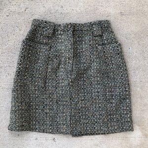 Vintage the limited tweeted wool pencil skirt